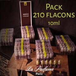 Pack de E-NECTARS 10 ml (210 flacons)