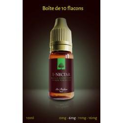 """""""Basilic Grand vert, Citron Feminello"""" 10 ml (Boîte de 5 ou 10 E-NECTARS)"""
