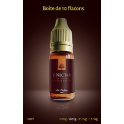 """""""Brun original, Café, Pain d'épices"""" 10 ml (Boîte de 5 ou 10 E-NECTARS)"""